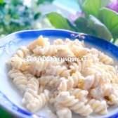 Фузилли з вершково-горіховим соусом - рецепт