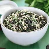 Грецький рисовий салат