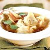 """Грибний суп з """"вушками"""""""