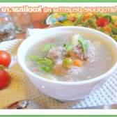 Густий супчик для вічно зайнятих матусь з м`ясними галушками, гречкою і овочами. - рецепт