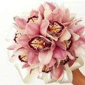 Вишукана наречена: весільний букет з орхідей