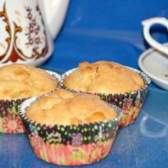 Йогуртові кекси з яблуком і мандарином - рецепт