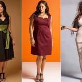 Як одягнути повну жінку