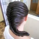 """Як укласти волосся """"риб`ячою кісткою"""""""