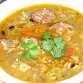 Машхурда (суп з махаємо і рисом) - рецепт