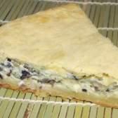 Пиріг з сиром і грибами. - рецепт