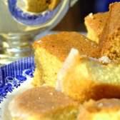 Простий лимонний пиріг
