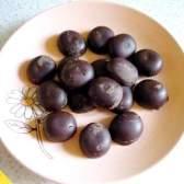 Шоколадні цукерки з апельсиновою начинкою (покроковий рецепт з фото)
