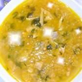 Суп рибний густий ... З сочевицею - рецепт