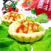 Тарталетки з суфле з курки під сиром - рецепт