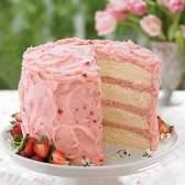 """Торт """"мегалубніка"""""""