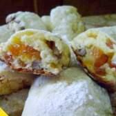 Сирні рулетики з курагою і горіхами (покроковий рецепт з фото)