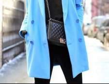 Блакитне пальто: з чим носити. Поради фахівців
