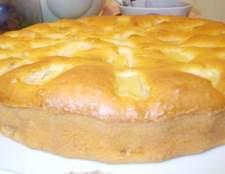 Яблучно-ананасовий пиріг