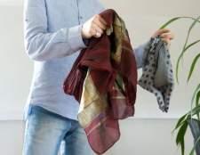 Як носити хустку на шиї
