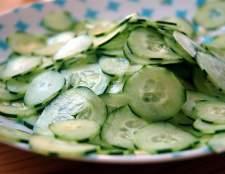 Як схуднути за допомогою огірковим салатів