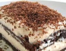 Як приготувати тістечко з лікером
