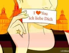"""Як сказати """"я тебе люблю"""" по німецьки"""