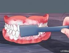 Як зберегти білизну зубних протезів