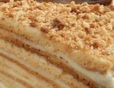 Медовий торт в домашніх умовах