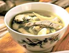 Овочевий суп зі свининою