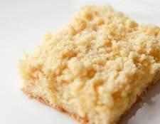 Розсипчастий сирний пиріг