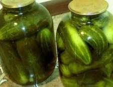Рецепт смачних консервованих огірків
