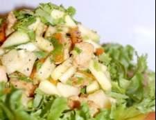Салат з індички з селерою і яблуком - рецепт