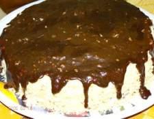 """Торт """"таємниця"""" (шоколадно-кремово-горіховий) - рецепт"""