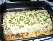 Вафельно-м`ясний пиріг - рецепт