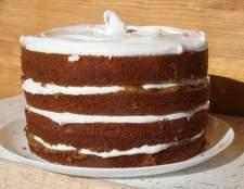 Повітряний фруктово-цитрусовий торт